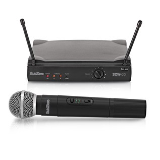 SubZero SZW-20 Handheld Wireless Microphone System
