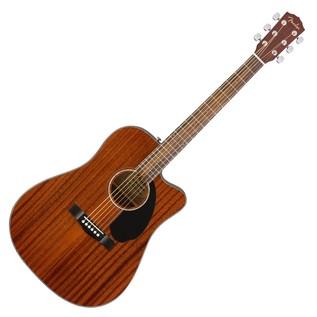Fender CD-60SCE Mahogany Dreadnought Electro Acoustic Guitar, Natural