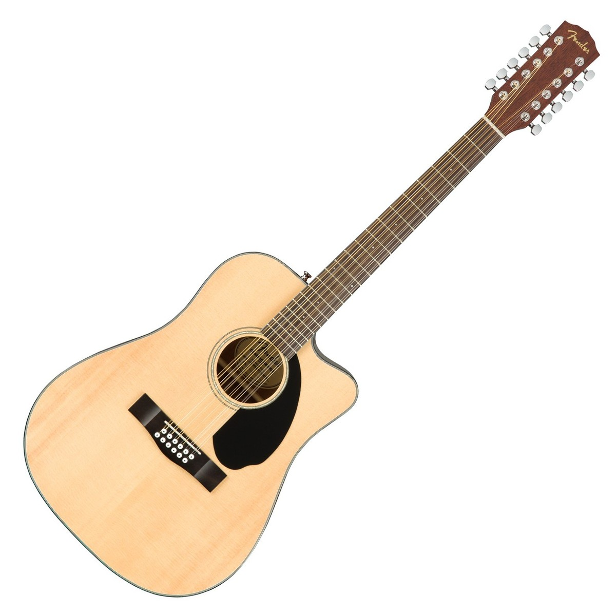fender cd 60sce 12 string dreadnought electro acoustic guitar at. Black Bedroom Furniture Sets. Home Design Ideas