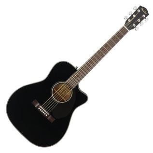 Fender CD-60SCE Concert Electro Acoustic Guitar, Black