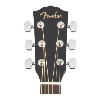 Fender CD-60SCE Concert Electro Acoustic Guitar, Black Headstock