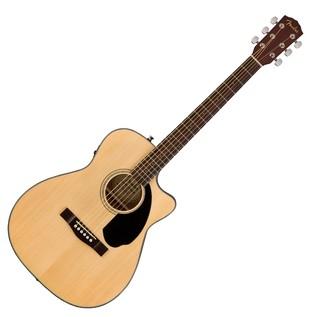 Fender CC-60SCE Concert Electro Acoustic Guitar, Natural