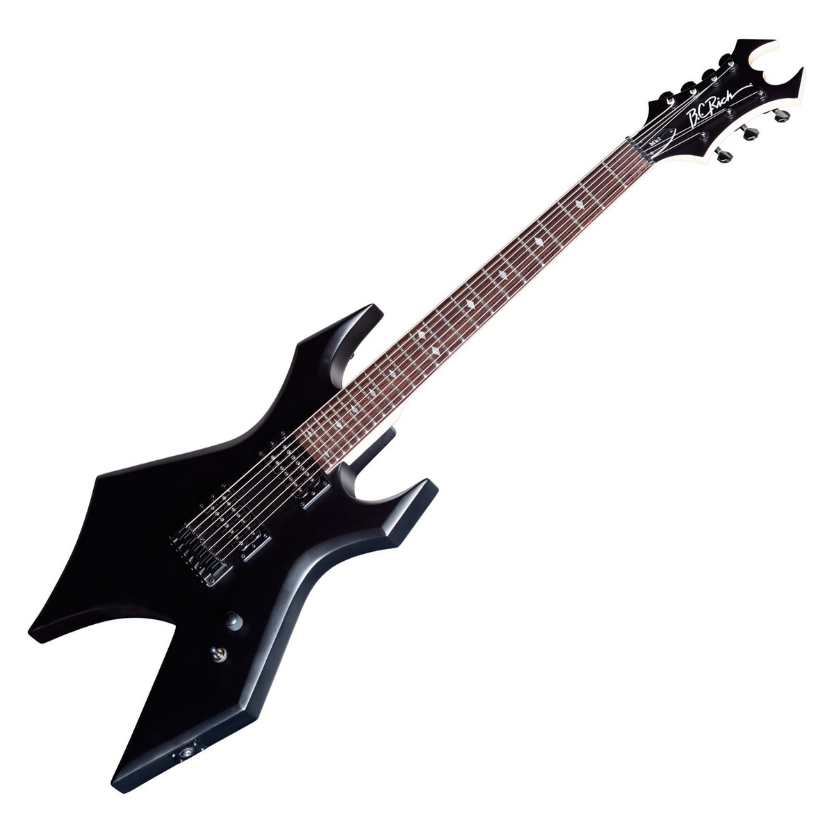 Click to view product details and reviews for Bc Rich Warlock Mk1 7 String Electric Guitar Shadow Black.