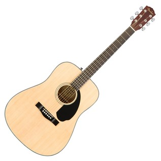 Fender CD-60S Acoustic Guitar, Natural