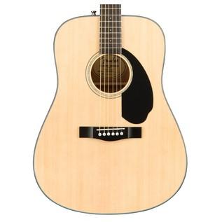 Fender CD-60S Acoustic Guitar, Natural Body