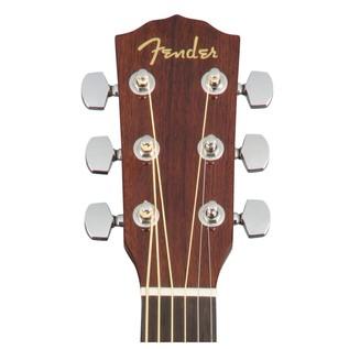 Fender CD-60S Acoustic Guitar, Natural Headstock