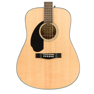 Fender CD-60S Left Handed Acoustic Guitar, Natural Body