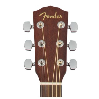 Fender CD-60S Left Handed Acoustic Guitar, Natural Headstock