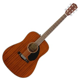 Fender CD-60S Mahogany Acoustic Guitar, Natural