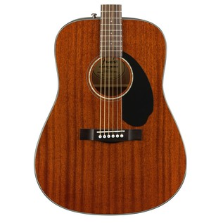 Fender CD-60S Mahogany Acoustic Guitar, Natural Body
