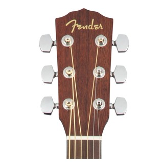 Fender CD-60S Mahogany Acoustic Guitar, Natural Headstock