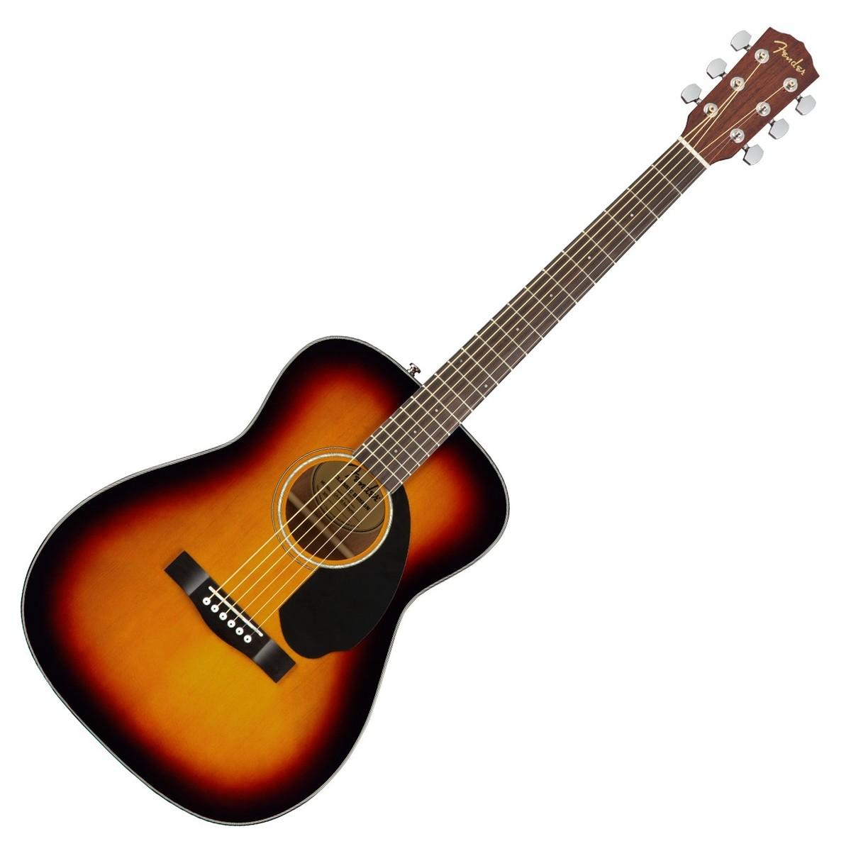 guitare acoustique sunburst
