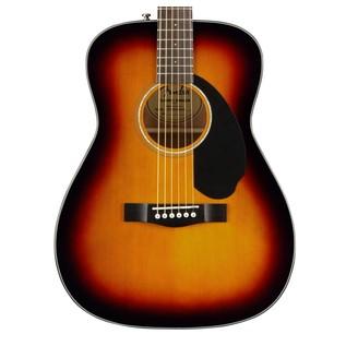 Fender CC-60S Concert Acoustic Guitar, 3 Color Sunburst Body