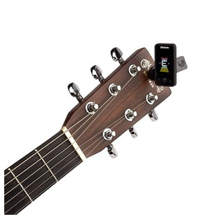 D'Addario Eclipse Tuner, Black With Acoustic