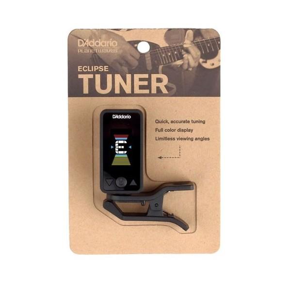 D'Addario Eclipse Tuner, Black Packaging