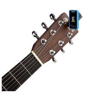 D'Addario Eclipse Tuner, Blue With Acoustic