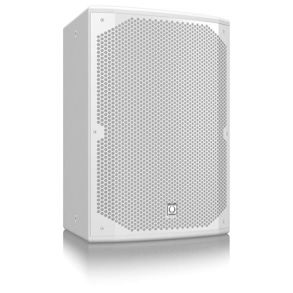 "Turbosound Dublin TCX152-R 2 Way 15"" Loudspeaker, White - Angled"