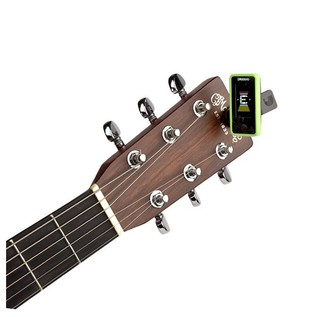 D'Addario Eclipse Tuner, Green With Acoustic