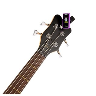 D'Addario Eclipse Tuner, Purple With Bass
