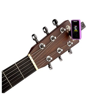 D'Addario Eclipse Tuner, Purple With Acoustic