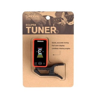 D'Addario Eclipse Tuner, Red Packaging