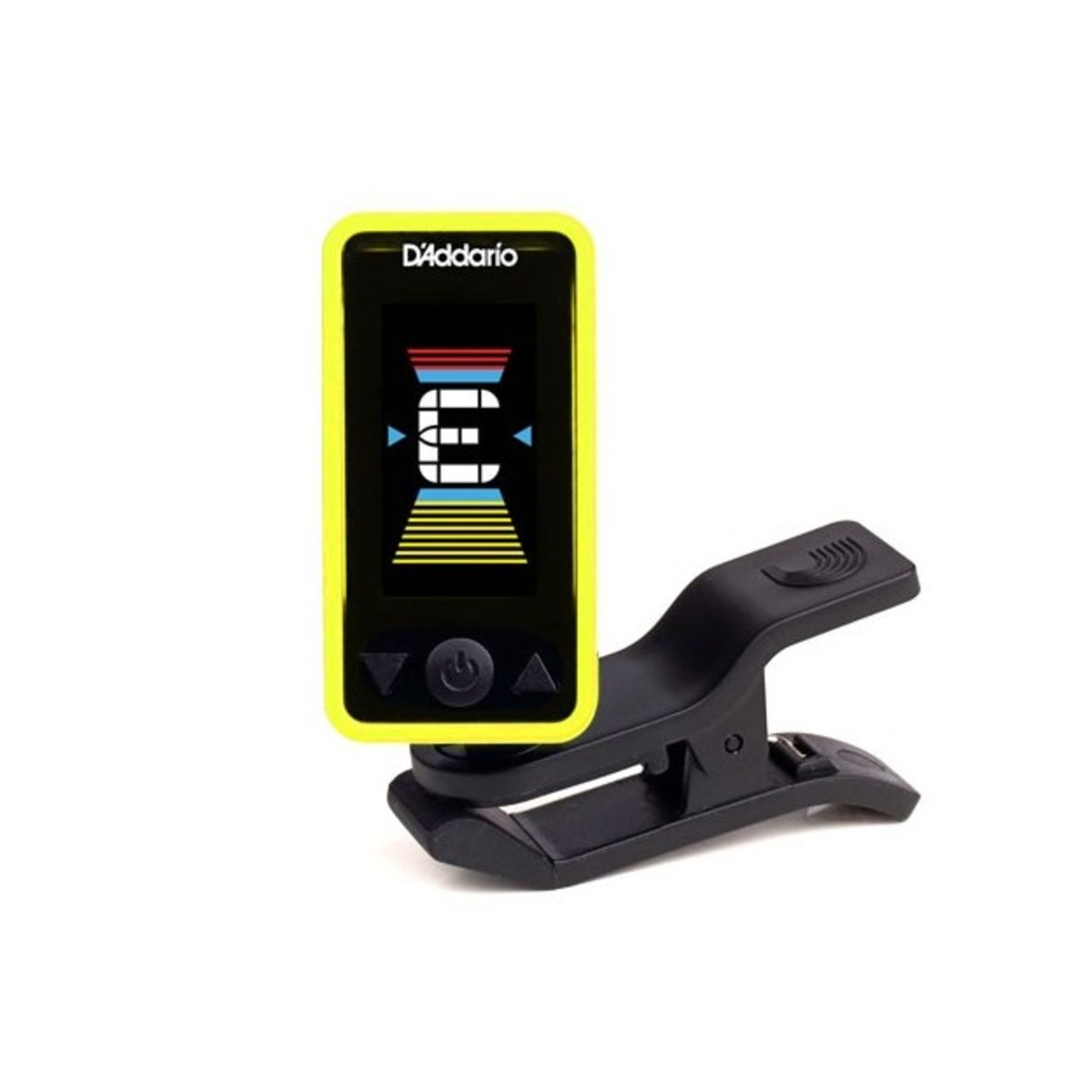 Click to view product details and reviews for Daddario Eclipse Tuner Yellow.