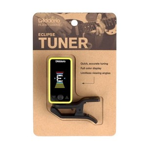 D'Addario Eclipse Tuner, Yellow Packaging