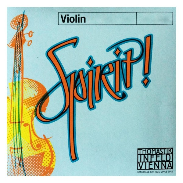 Thomastik Spirit 4/4 Violin D String, Aluminium Wound