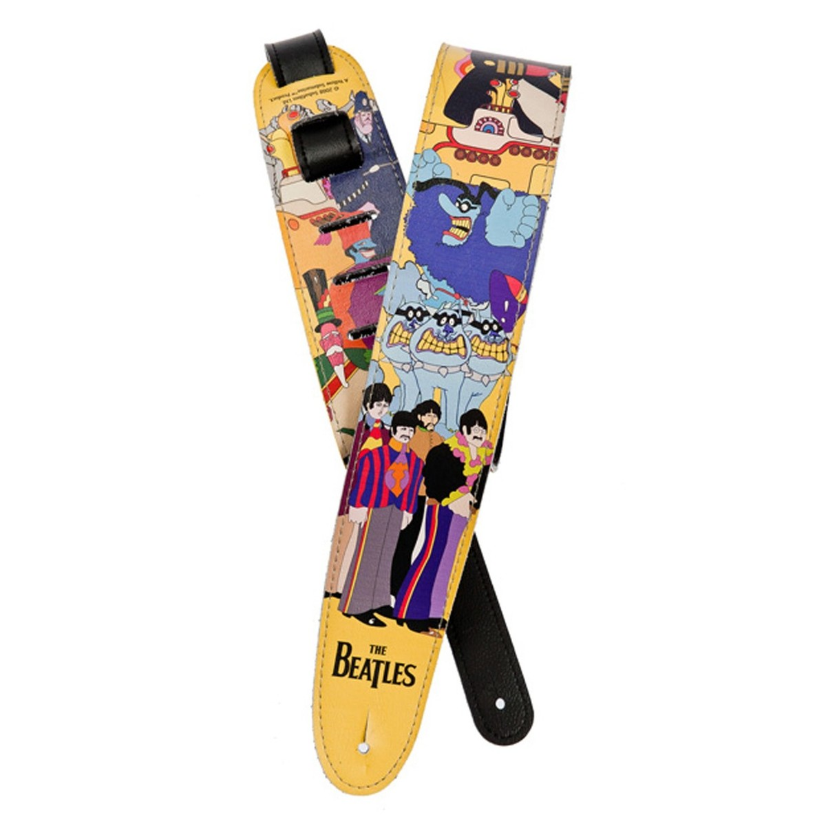 Click to view product details and reviews for Planet Waves Beatles Guitar Strap Yellow Submarine.