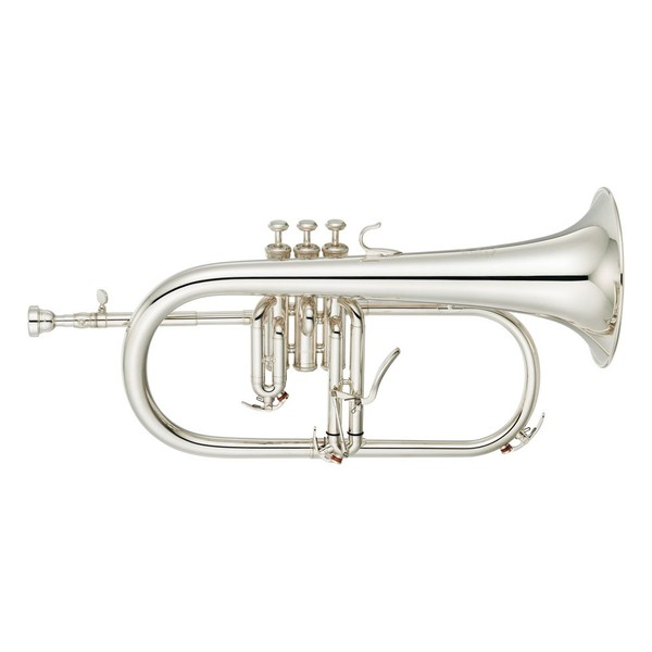 Yamaha YFH8315G Professional Flugel Horn, Silver