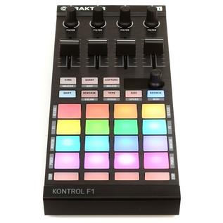 Native Instruments Traktor Kontrol F1 Portable DJ Controller - Front