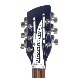 Rickenbacker 360 12 String Electric Guitar, Midnight Blue headstock
