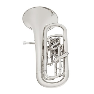 Besson International Euphonium, Compensating 4 Valve, Silver Plate