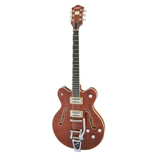Gretsch G6609TFM Player's Edition Broadkaster Center Block, Bourbon Angle