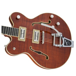 Gretsch G6609TFM Player's Edition Broadkaster Center Block, Bourbon Right