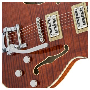 Gretsch G6609TFM Player's Edition Broadkaster Center Block, Bourbon Close
