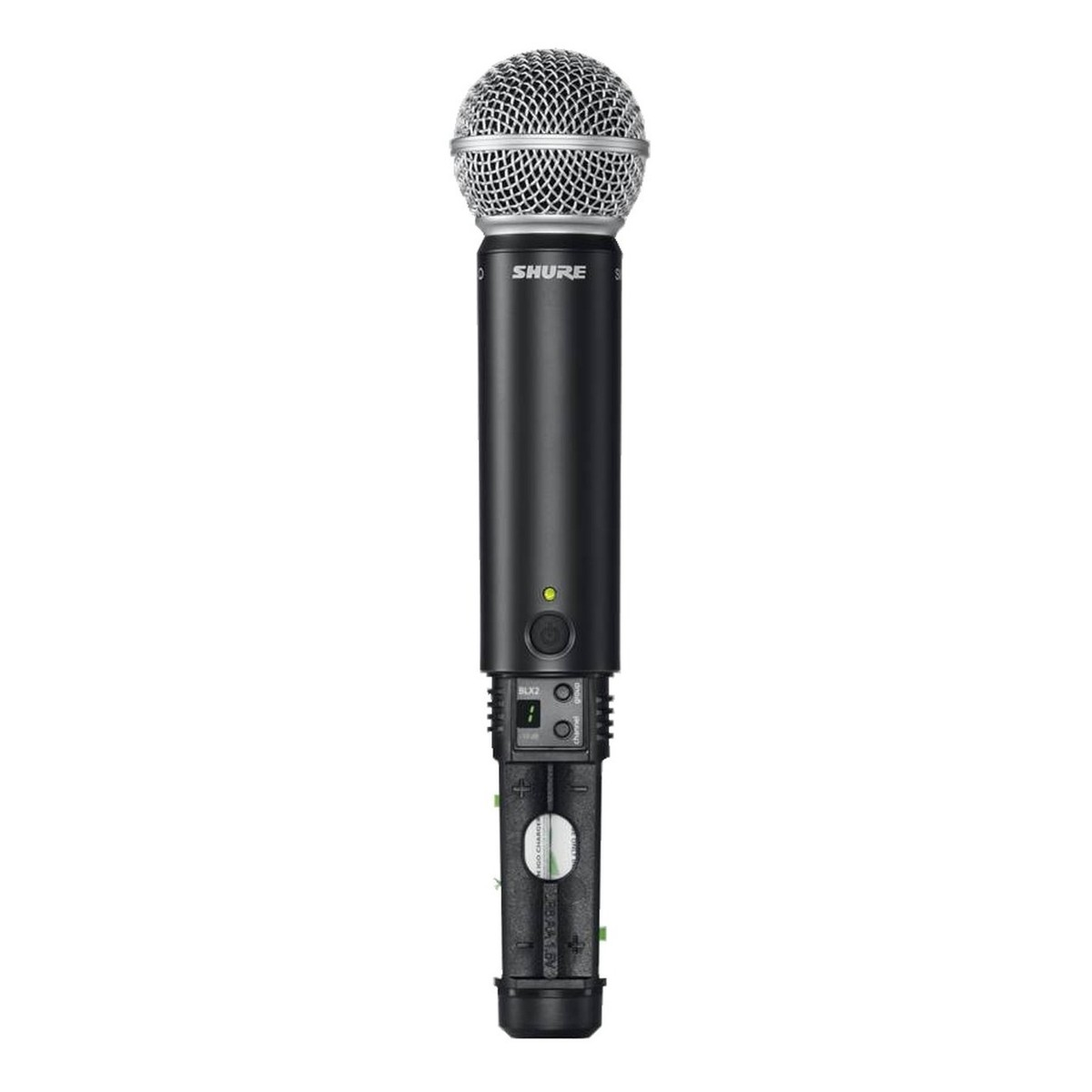shure blx2 sm58 k3e wireless handheld microphone transmitter gear4music. Black Bedroom Furniture Sets. Home Design Ideas