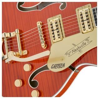 Gretsch G6620TFM Player's Edition Nashville Center Block, Orange Close