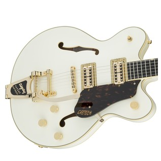 Gretsch G6609TG Player's Edition Broadkaster Center Block, White Left