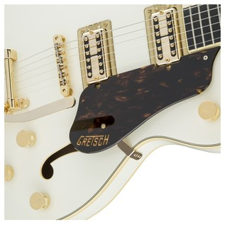 Gretsch G6609TG Player's Edition Broadkaster Center Block, White Close