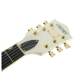 Gretsch G6609TG Player's Edition Broadkaster Center Block, White Headstock