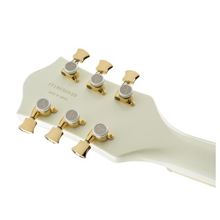 Gretsch G6609TG Player's Edition Broadkaster Center Block, White Headstock Back