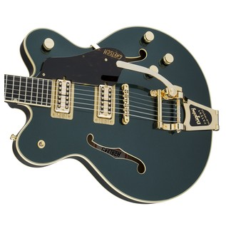Gretsch G6609TG Player's Edition Broadkaster Center Block, Green Right