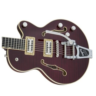 Gretsch G6659TFM Player's Edition Broadkaster FM, Dark Cherry Stain Right
