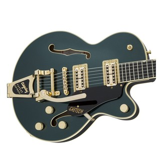 Gretsch G6659TG Player's Edition Broadkaster Jr, Cadillac Green Left