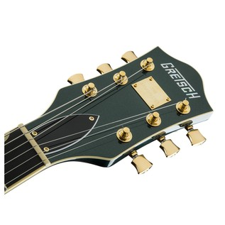 Gretsch G6659TG Player's Edition Broadkaster Jr, Cadillac Green Headstock