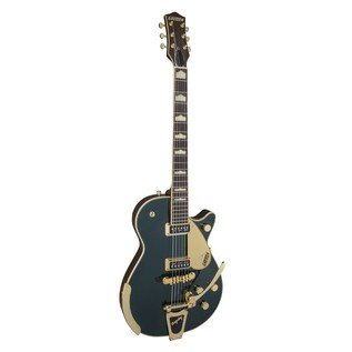 Gretsch G6128T-57 Vintage Select '57 Duo Jet TV Jones, Cadillac Green Angle