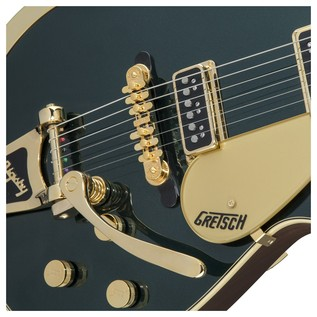 Gretsch G6128T-57 Vintage Select '57 Duo Jet TV Jones, Cadillac Green Close