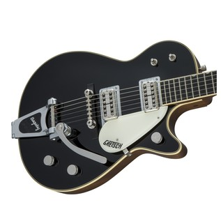 Gretsch G6128T-59 Vintage Select '59 Duo Jet TV Jones, Black Left
