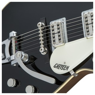 Gretsch G6128T-59 Vintage Select '59 Duo Jet TV Jones, Black Close